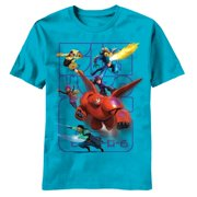 Big Hero 6 - Powers Juvy T-Shirt - Juvy Large
