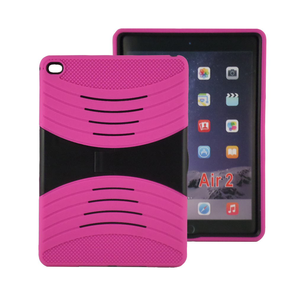 TCD iPad Air 2 Rugged Protective Hybrid Defender Shield Case Dual Layer
