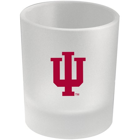 Indiana Hoosiers 8.45oz. Frosted Rocks Glass - No (Indiana Hoosiers Glass)