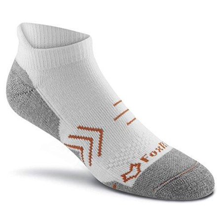 FoxRiver Copper Guardian Pro Anti-Odor Ankle Socks White