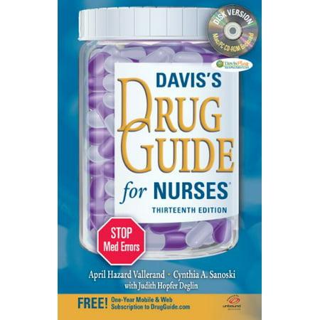 Davis' Drug Guide For Nurses by April Vallerand
