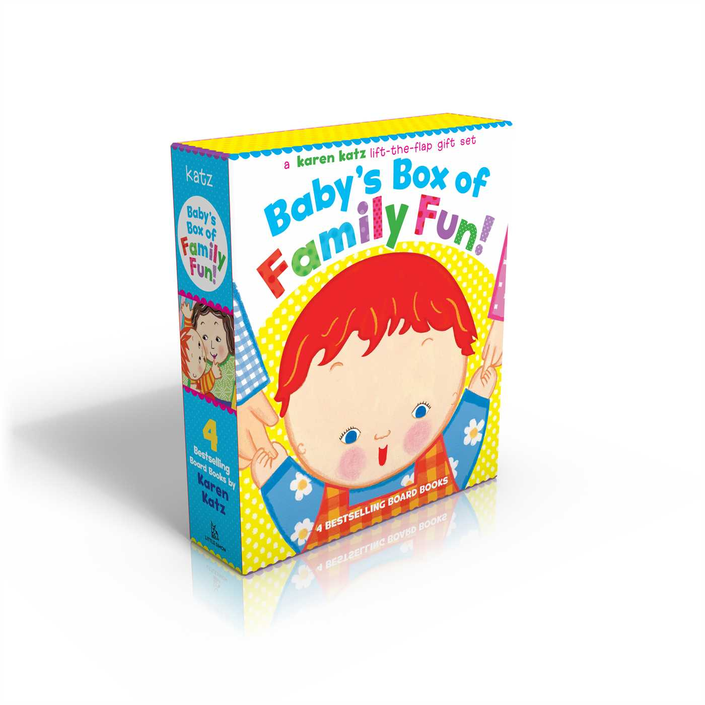 Baby's Box of Family Fun! : A 4-Book Lift-The-Flap Gift Set: Where Is Baby's Mommy?; Daddy and Me; Grandpa and Me, Grandma and Me
