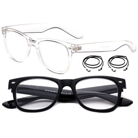 Vintage Style Reading Glasses Comfortable Stylish Simple Reader for Men & (Stylish Reading Glasses For Women)