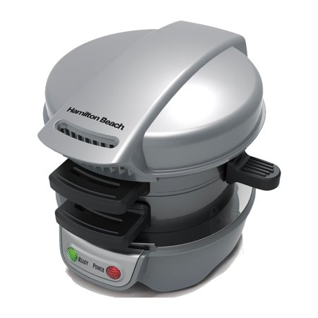 Hamilton Beach 25475A Top Press Kitchen Counter 5 Min Breakfast Sandwich Maker