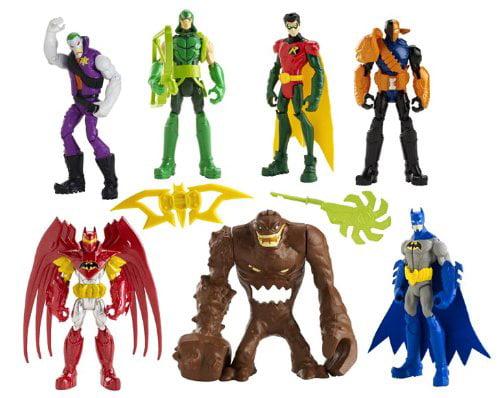 Batman Gotham City Showdown Figure 7-Pack By Mattel by