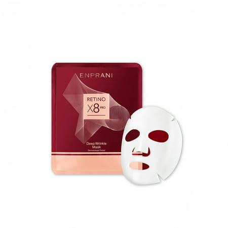 Enprani RETINO X8 PRO Deep Wrinkle Mask (5pcs) x 0.84fl.oz/25ml (Prom Masks)