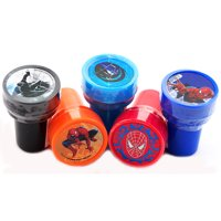 12 Spiderman  Authentic Licensed Self Inking Stampers