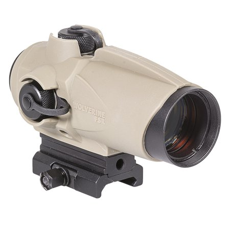Earth Dots - Wolverine FSR Red Dot Sight, Flat Dark Earth