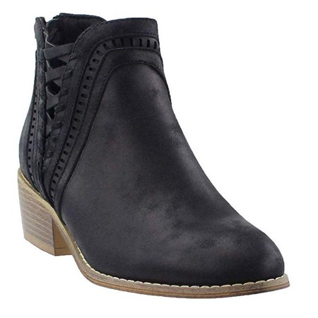 Corkys Boutique Footwear Women's Detailed Black Ankle Bootie Size: 7, Width: - Witch Booties