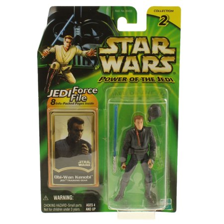 Star Wars - Power of the Jedi (POTJ) - Action Figure - OBI-WAN KENOBI (Jedi Training)(3.75 inch)