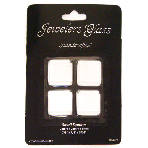 Wholesalers USA 4 Piece Small Squares Jeweler's Glass Set