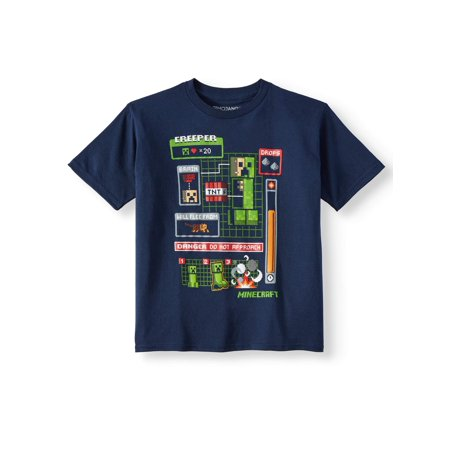 Minecraft Short Sleeved Licensed Tee (Little Boys & Big Boys)