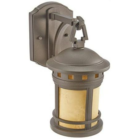 designers fountain 2370-am-orb wall lantern, oil rubbed -