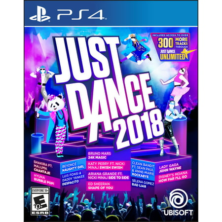 Just Dance 2018, Ubisoft, PlayStation 4, 887256028633