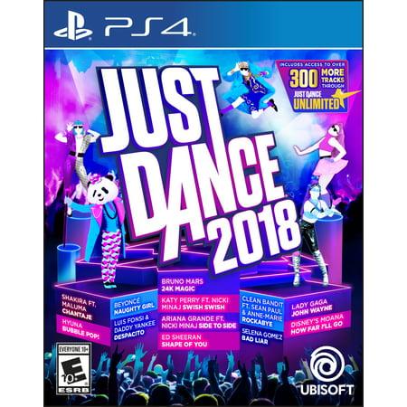 Just Dance 2018, Ubisoft, PlayStation 4, 887256028633 - Just Dance 4 Halloween Songs