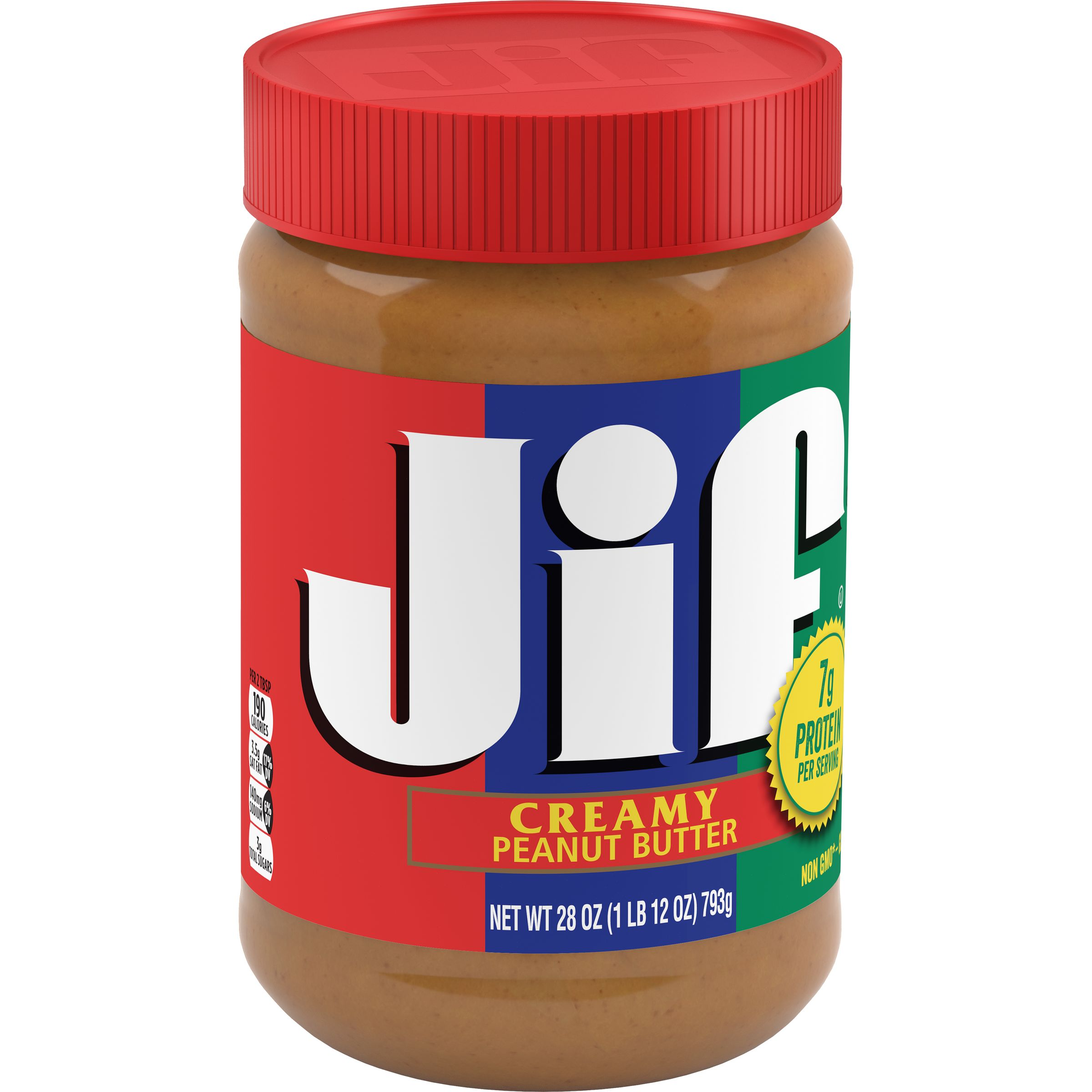 Jif Creamy Peanut Butter, 28-Ounce