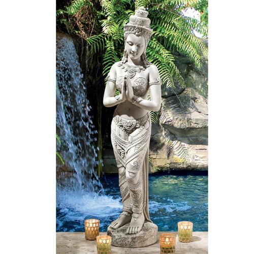 Design Toscano Thai Teppanom Beautiful Being Statue