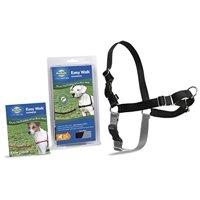 PetSafe Easy Walk No Pull Dog Harness, Medium, Black