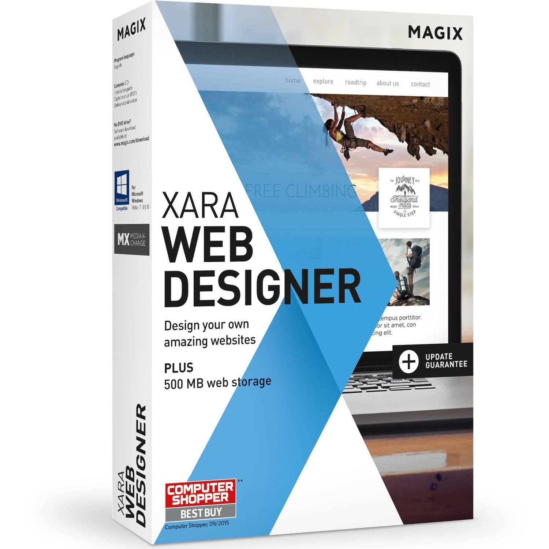 Magix Software ANR006410ESD Xara Web Designer ESD (Digital Code)