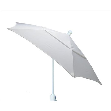 7Tcrw-T-5404 Terrace Umbrella 7.5 Ft - - 5404 Natural