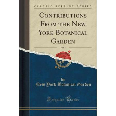 New York Botanical Garden Halloween (Contributions from the New York Botanical Garden, Vol. 1 (Classic)