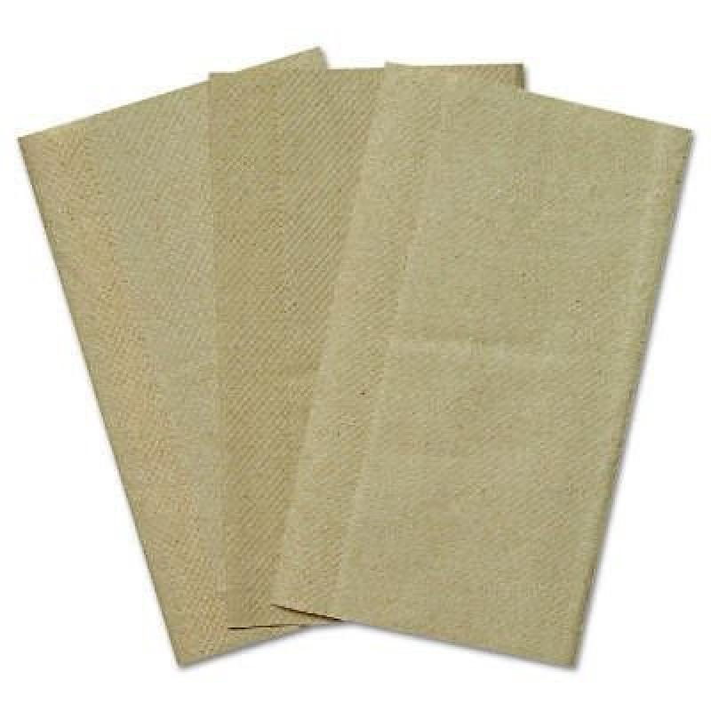 General Kraft Single fold Paper Towels