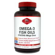 Olympian Labs Mega Omega-3 Fish Oils, 120ct