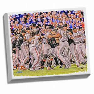 San Francisco Giants 2014 World Series Champions 22x26 Celebration Canvas - image 1 of 1