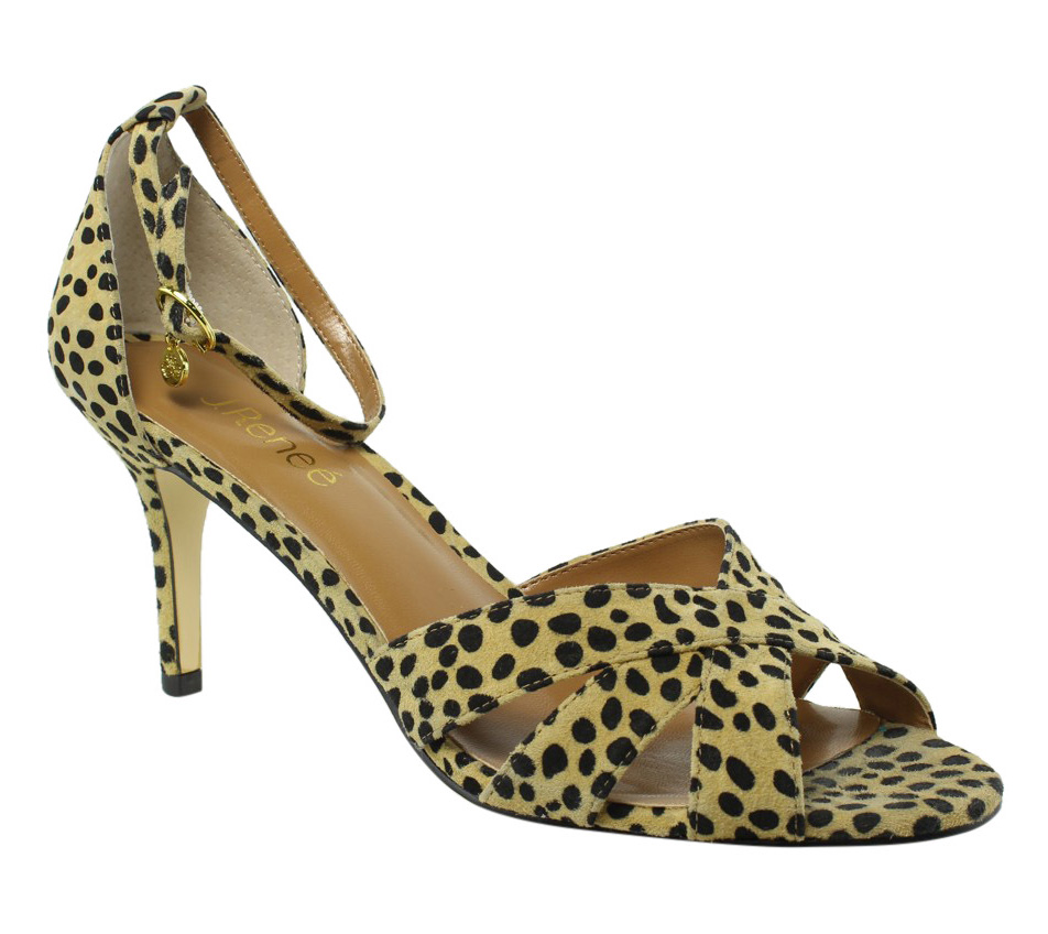 New J. Renee Womens Brown Sandals Size 9.5 by J. Renee