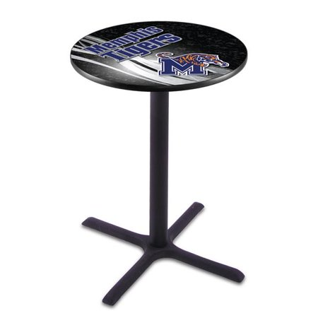 Holland Bar Stool L211B4228Memphs-D2 42 in. Memphis Tigers Pub Table with 28 in. Top - image 1 of 1