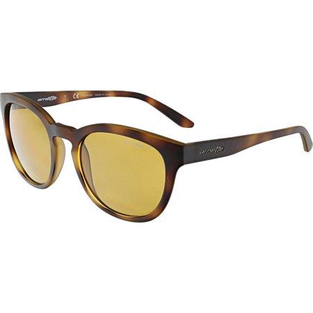 - Arnette Men's AN4230-237583-53 Brown Oval Sunglasses