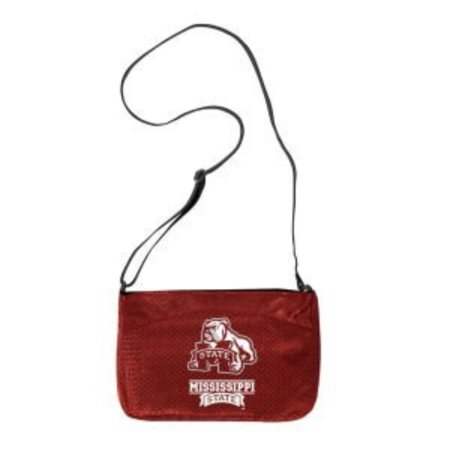 NCAA Kansas Jayhawks Jersey Mini Purse, Jersey Mini Purse Measures Approximately 10.5-inches in Length and 7.5-inches in Height By Littlearth - Littlearth Petite Purse