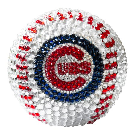 Chicago Cubs Crystal Baseball - No Size