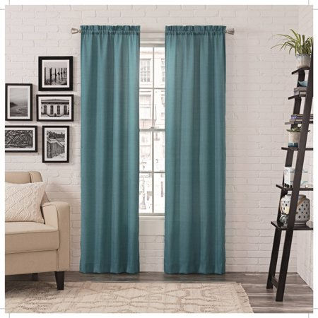 Pairs to Go Teller Window Curtains, 2 Pack