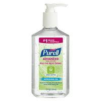 PURELL Advanced Hand Sanitizer Green Certified Refreshing Gel, Fragrance-Free, 12 Oz