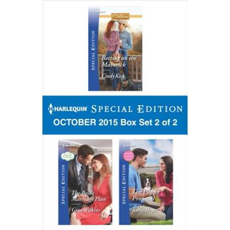 Harlequin Special Edition October 2015 - Box Set 2 of 2 - eBook (Literature To Go Meyer Edition 2)