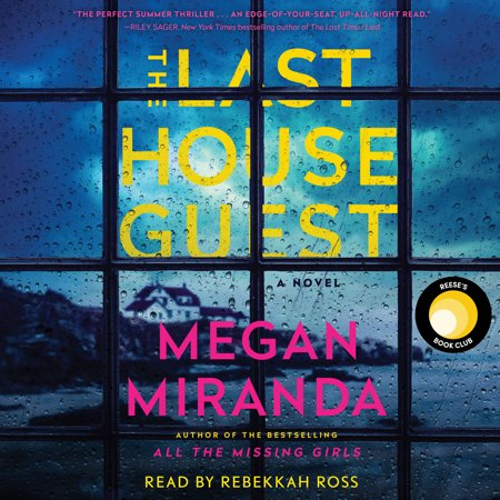 The Last House Guest REESE'S BOOK CLUB x HELLO SUNSHINE AUGUST 2019 PICK! THE INSTANT NEW YORK TIMES BESTSELLER   Once again, Megan Miranda has crafted the perfect summer thriller. The Last House Guest is twisty and tense, with a pace that made my heart race. An edge-of-your-seat, up-all-night read.  --Riley Sager, New York Times bestselling author of The Last Time I Lied   Dizzying plot twists and multiple surprise endings are this author's stock in trade, but she warms them up by establishing the close friendship between Sadie Loman...and Avery Greer...And, oh boy, does she ever know how to write a twisty-turny ending (or two, or more).  --Marilyn Stasio, The New York Times Book Review  No one can be trusted in the latest chilling thriller from master of suspense, Megan Miranda. The Last House Guest is a lightning-fast mystery, full of menace and unexpected twists and turns that will have readers on the edge of their seats. A riveting read!  --Mary Kubica, New York Times bestselling author of The Good Girl  Littleport, Maine, has always felt like two separate towns: an ideal vacation enclave for the wealthy, whose summer homes line the coastline; and a simple harbor community for the year-round residents whose livelihoods rely on service to the visitors. Typically, fierce friendships never develop between a local and a summer girl--but that's just what happens with visitor Sadie Loman and Littleport resident Avery Greer. Each summer for almost a decade, the girls are inseparable--until Sadie is found dead. While the police rule the death a suicide, Avery can't help but feel there are those in the community, including a local detective and Sadie's brother, Parker, who blame her. Someone knows more than they're saying, and Avery is intent on clearing her name, before the facts get twisted against her. Another thrilling novel from the bestselling author of All the Missing Girls and The Perfect Stranger, Megan Miranda's The Last House Guest is a smart, twisty read wit
