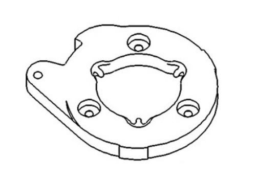 A31126 New Brake Actuating Disc Made To Fit Case Ih Tractor Models