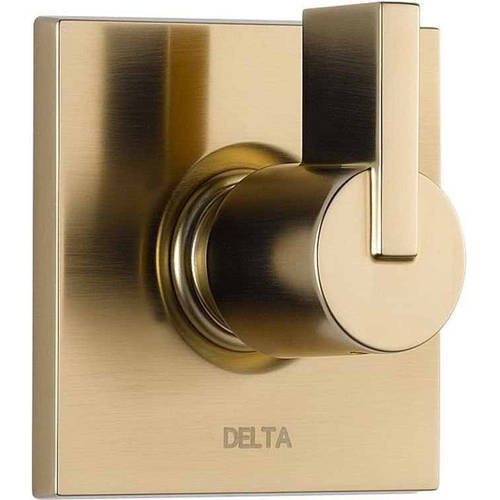 Delta Vero Three Function Diverter Valve Trim, Available in Various Colors