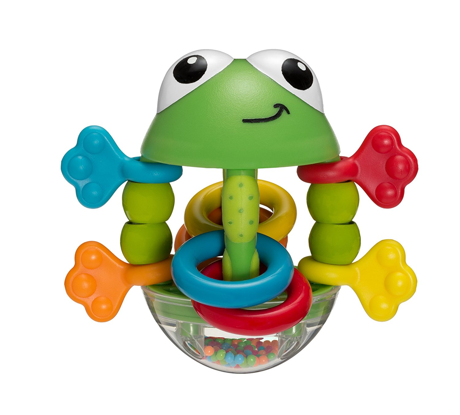 Flip Flop Frog Rattle..., By Infantino Ship from US by Infantino