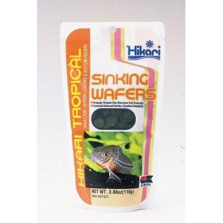 Hikari Sinking Wafers Fish Food, 3.88 Oz (Hikari Micro Wafers)