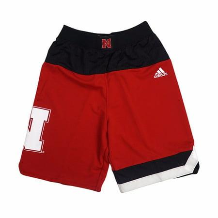 f66c58bbc Nebraska Cornhuskers NCAA Adidas Red Official Road Away Replica Basketball  Shorts For Toddler - Walmart.com