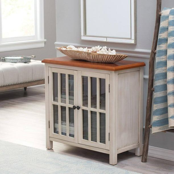 Belham Living Hawthorne 2-Door Accent Cabinet - Antique White