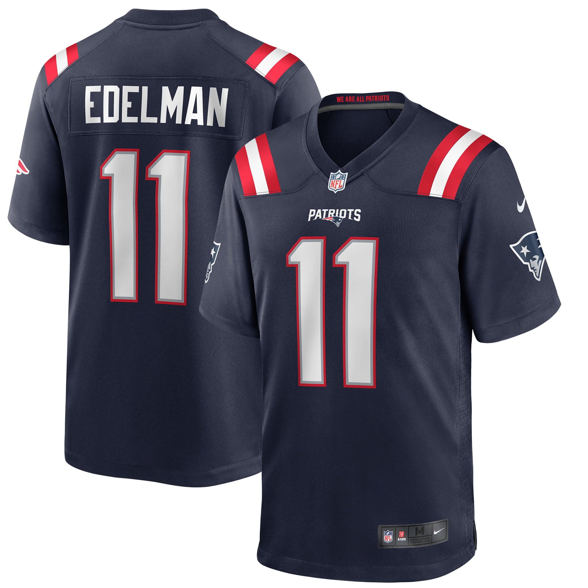 Julian Edelman New England Patriots Nike Game Jersey - Navy - Walmart.com