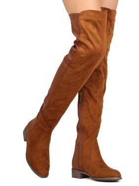 dc1bf8a362e2 Product Image New Women Nature Breeze Precise-01OK Mixed Media Thigh High  Riding Boot