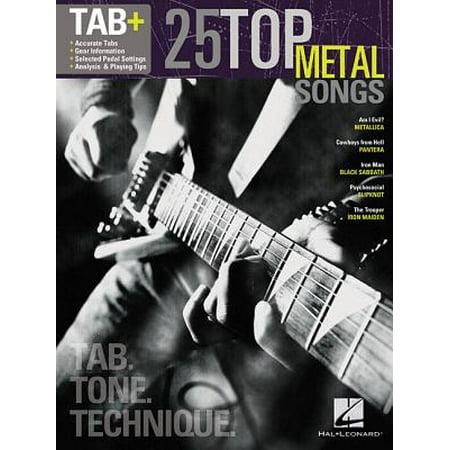 25 Top Metal Songs - Tab. Tone. Technique. : Tab+ (Top Heavy Metal Halloween Songs)