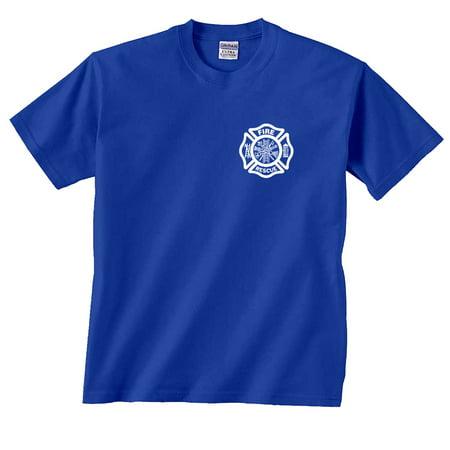 - Firefighter Fire Rescue T-Shirt Chest Print