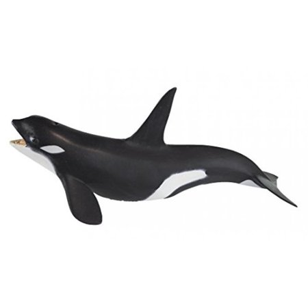 Safari Ltd Wild Safari Sea Life - Killer Whale - Educational Hand Painted Figurine - Quality Construction from Safe and BPA Free Materials - For Ages 3 and Up