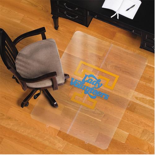 "ES Robbins University of Tennessee Vols 48""x36"" Foldable Chairmat for Hard Floors, Orange/Black/White"