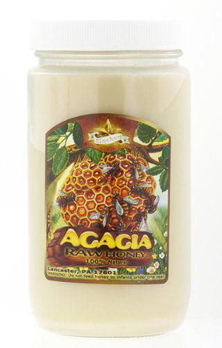 Amish Acacia Honey Raw 1LB by